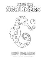 SeaNotes_Colouring_Seahorse